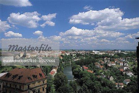 Czech Republic, Tàbor, general view