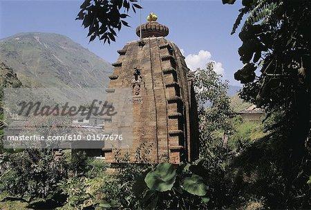 India, Himachal Pradesh, Nirth Temple