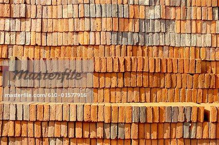 Briques de Guatemala, Antigua, fabrication