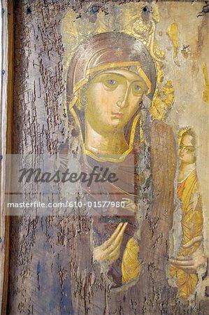 Cyprus, Nicosia, byzantine museum, icon