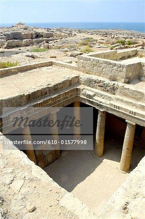 Chypre, Paphos, tombeaux des rois