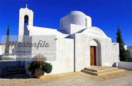 Chypre, la chapelle Byzantine de l'Anassa Hotel, Polis