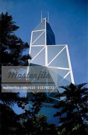 Chine, Hong Kong, Central District, Bank of China Tower