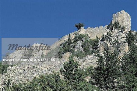 Cyprus, Saint Hilarion, castle