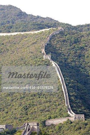 La Chine, près de Pékin, Mu Tian Yu, la grande muraille