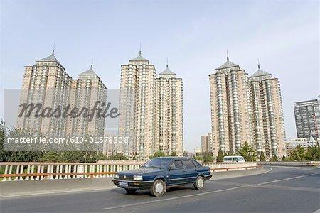 China, Beijing, buildings
