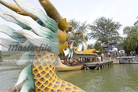 China, Beijing, Summer Palace, dragon