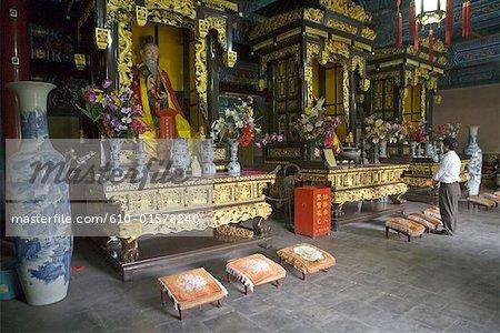 Temple de Chine, Beijing, Dong Yue Miao, autels