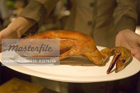 China, Beijing, restaurant, Peking roast duck