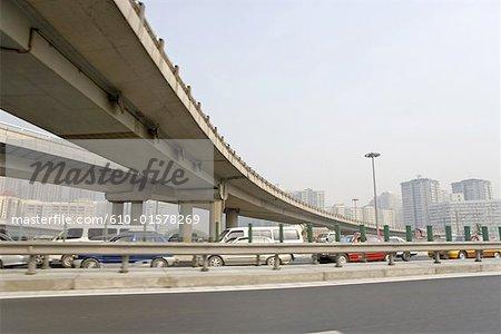China, Beijing, highway