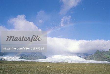 Iceland,  near Vatnajökull glacier, glacial lake Jökulsarlon