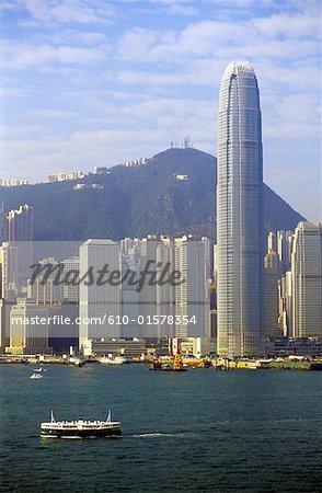 Chine, Hong Kong, Central District, tour deux IFC