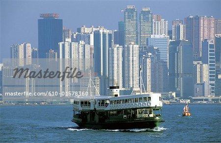 Chine, Hong Kong, Star Ferry