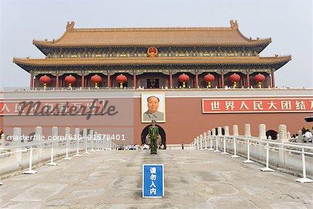 Chine, Beijing, Tiananmen Square, Forbidden City
