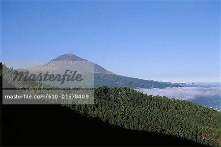 Espagne, Iles Canaries, Tenerife, le Teide