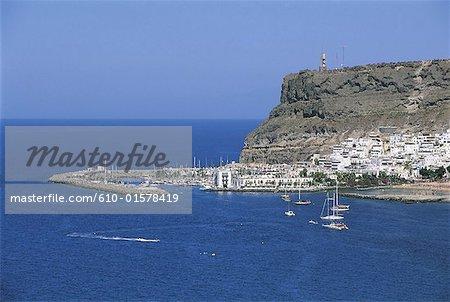 Spain, Canary Islands, Gran Canaria, Puerto Mogan