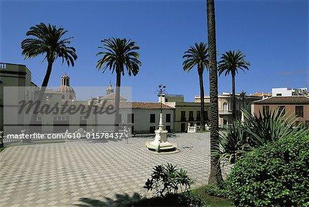 Espagne, Iles Canaries, Tenerife La Orotava, carré