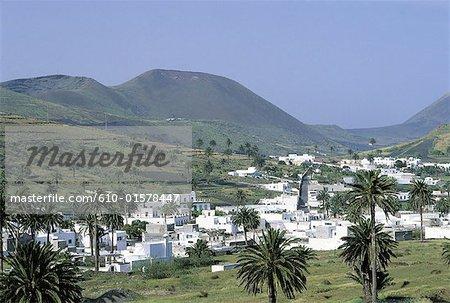 Espagne, Iles Canaries, Lanzarote, Haria