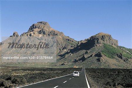 Espagne, Iles Canaries, Tenerife, Parc National de Teide