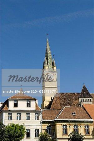 Roumanie, Transylvanie, Medias, église de la Citadelle