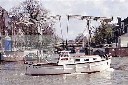 Canal de la Hollande-septentrionale, Amsterdam, Pays-Bas