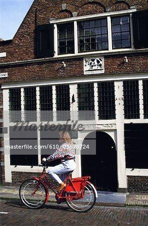 Le cycliste des pays-bas, Utrecht,