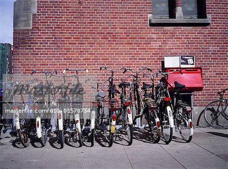La Hollande septentrionale, Amsterdam, vélos