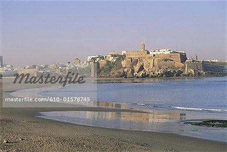 Morocco, Rabat, Oudaya Kasbah