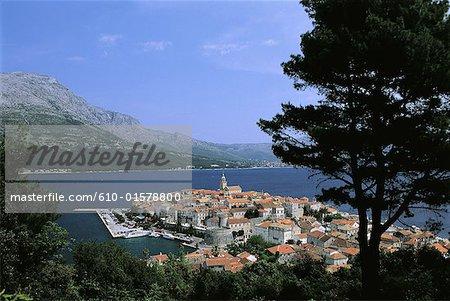 Croatie, Dalmatie, Korcula