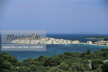 Croatie, Dalmatie, Primosten