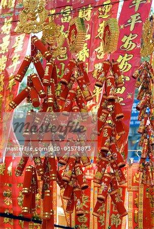 China, Yunnan, Xishuangbanna, Jinghong, Chinese lucky charms for sale