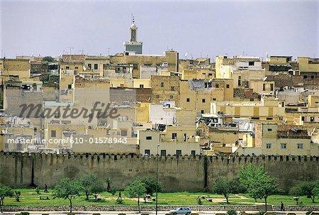 Vieille ville de Meknès, Maroc