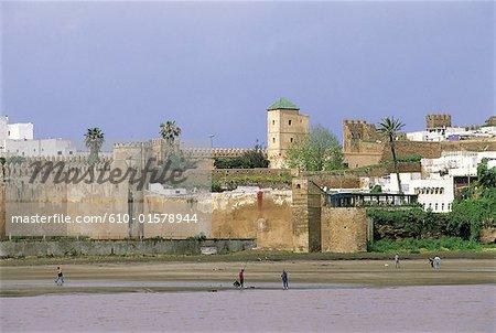 Morocco, Rabat, Oudaya Kasbah, cafe Maure