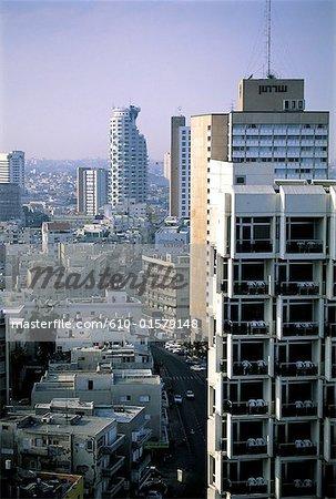 Israel, Tel Aviv, downtown