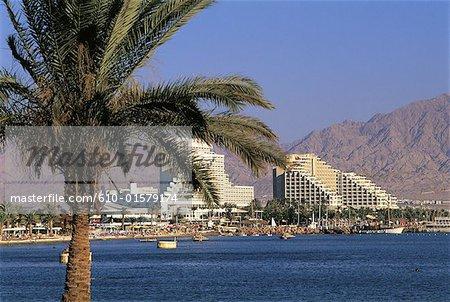 Hôtels Israel, Eilat, le long de la mer rouge