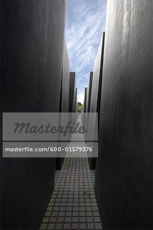 Mémorial pour les Juifs assassinés d'Europe, Berlin Allemagne