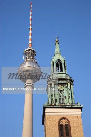 Fernsehturm Tower, Berlin, Germany