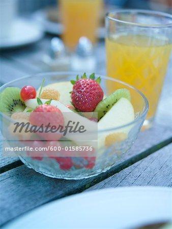 Stillleben mit Frühstückstisch