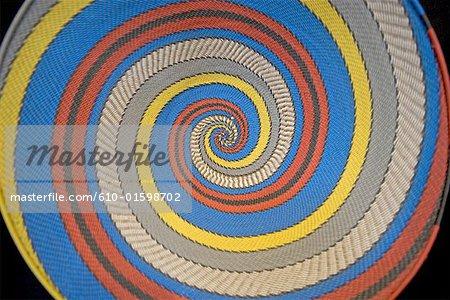 South Africa, Durban, Zulu art, decorative plate