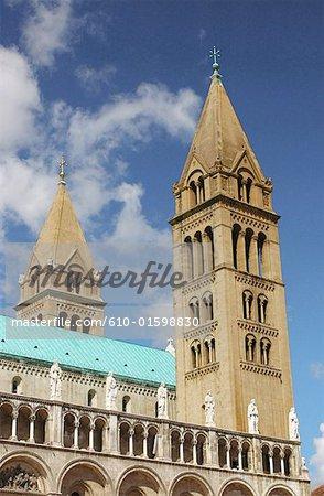 Hungary, Pécs, basilica
