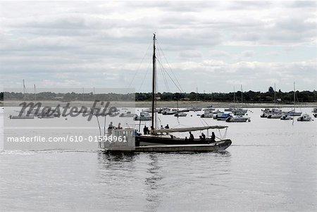 France, marina Aquitaine, bassin d'Arcachon,