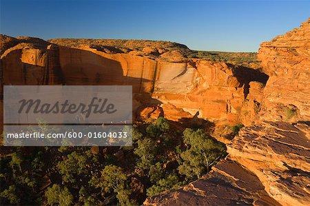 Kings Canyon, le Parc National de Watarrka, territoire du Nord, Australie