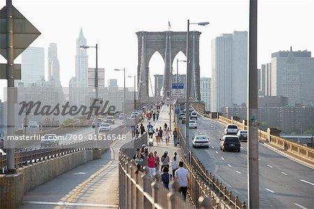 Pont de Brooklyn, New York, New York, USA