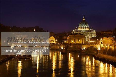 Ponte Sant ' Angelo, Rome, Italie