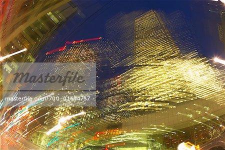 Toronto au crépuscule, Ontario, Canada