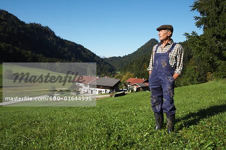 Farmer on Farm