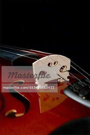 Detail einer Violine