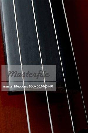 Detail von einem cello