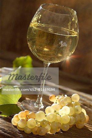 verre de vin blanc de Bourgogne