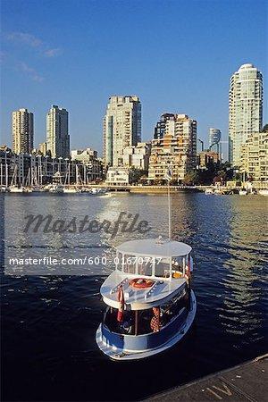 False Creek Ferry, Vancouver, British Columbia, Canada